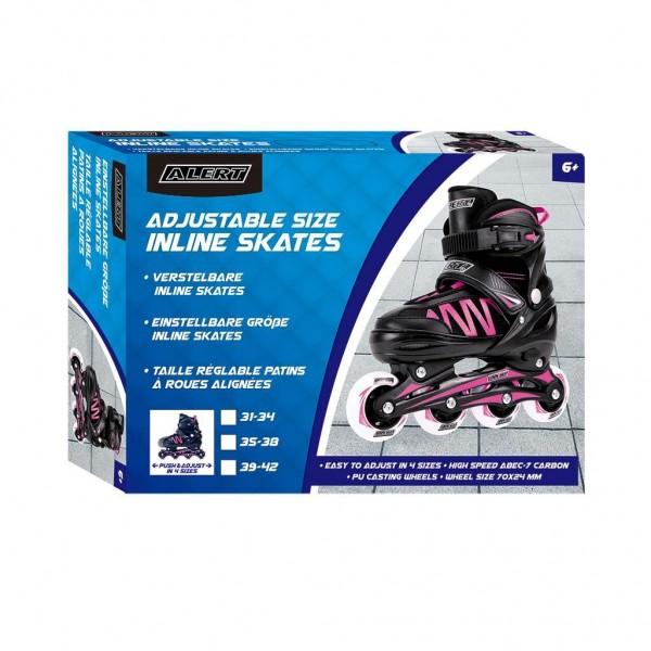 Alert Inline Skates Roze Maat 39-42