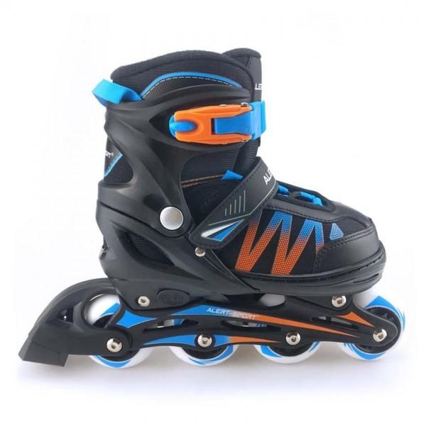 Inline Skates Maat 31-34 Blauw Alert