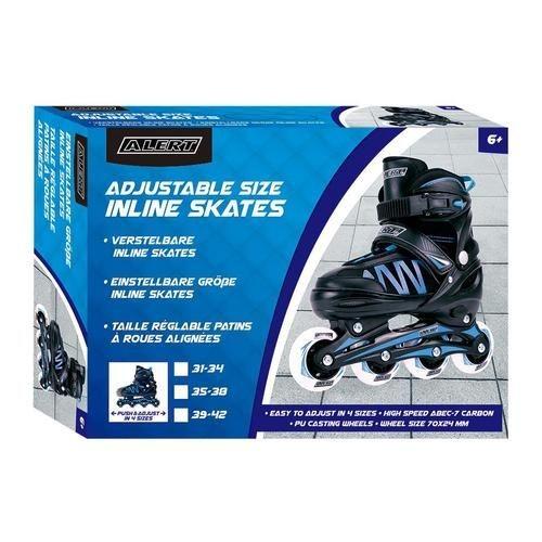 Alert Inline Skate Maat 39-42 Blauw