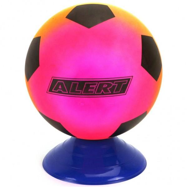 Alert Voetbal PVC Regenboog   Maat 5   200 Gr