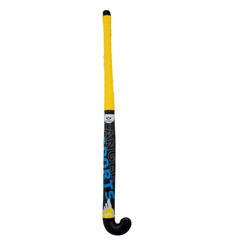 "Hockeystick 33"" geel"
