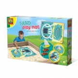 Ses Outdoor Zand Speelmat Water en Wegen