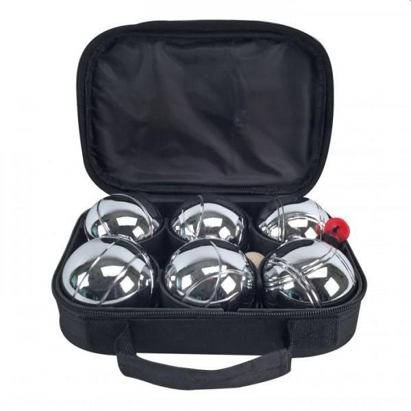 Alert Jeu de Boules Set Metaal 6 Ballen