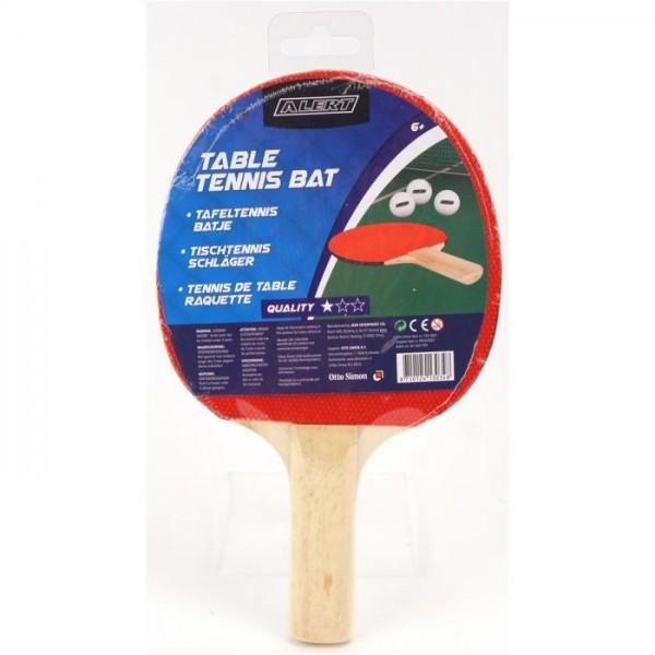 Tafeltennis Bat 1 Ster Alert