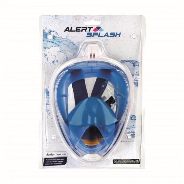 Alert Duikbril Masker S/M blauw