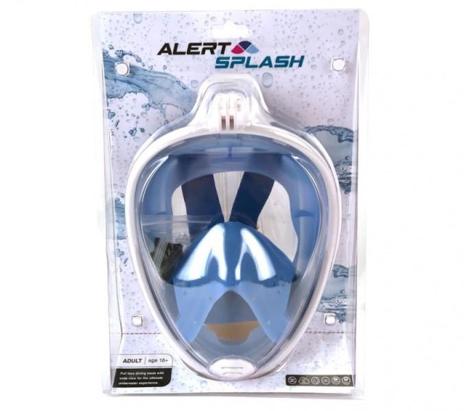 Alert Duikbril masker L/XL blauw