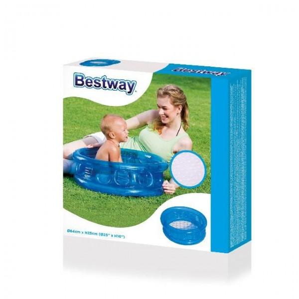 Bestway Zwembad Baby met Opblaasbare Bodem 64×25 Cm