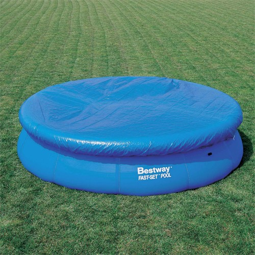 Bestway fast zwembad set met pomp305x76cm aanbieding kopen for Bestway pool folie