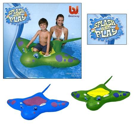 Opblaas figuur Manta Splash & Play