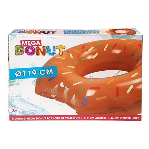 Zwemring Donut Bruin 119cm