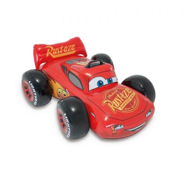Intex opblaasauto Cars Ride On 109 x 84 cm rood