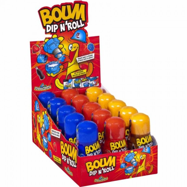 Snoep Boum Dip Roll 50 Gram