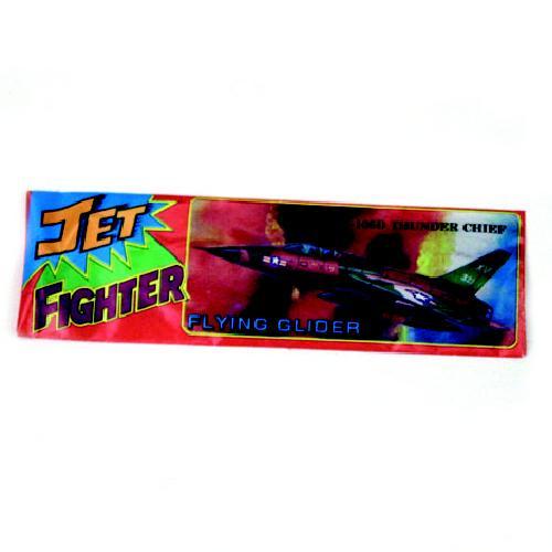 Vliegtuig foam jet fighter