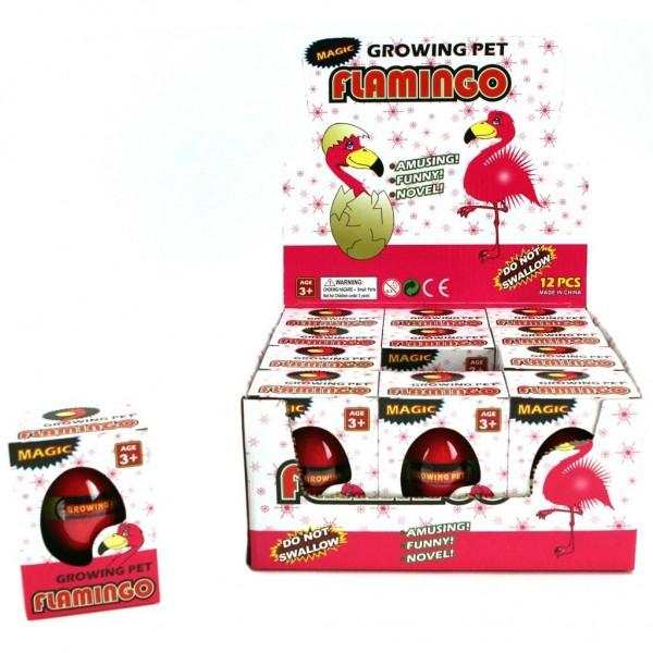 Flamingo Groei Ei 6 Cm
