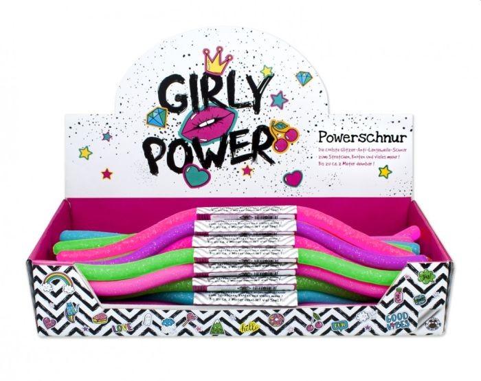 Powerschnur Glitter 6 Varianten