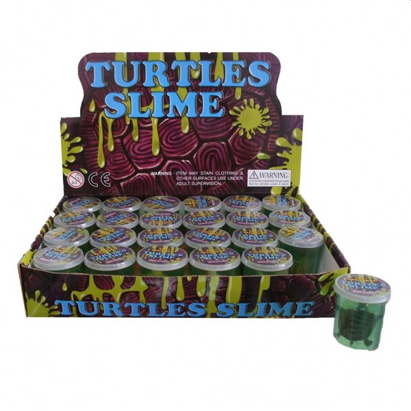 Slime met Schildpad