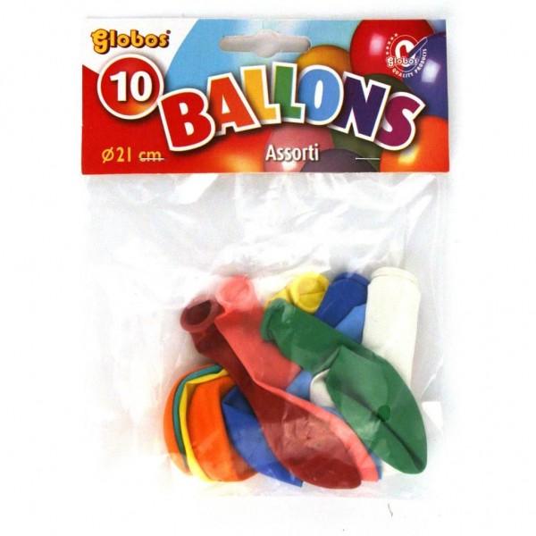 Ballon Kleuren 10 Stuks 21 Cm