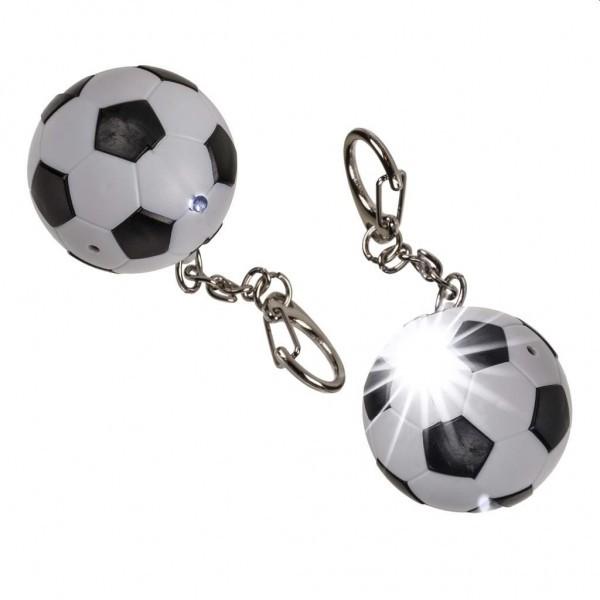 Sleutelhanger Voetbal met Geluid en LED