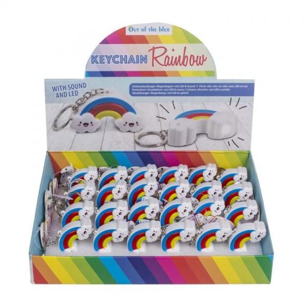 Sleutelhanger Regenboog met Licht en Geluid