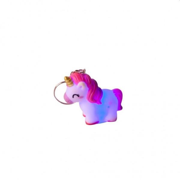 Sleutelhanger Unicorn met Licht