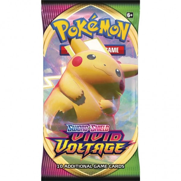 Pokémon TCG Sword & Shield Vivid Voltage Booster