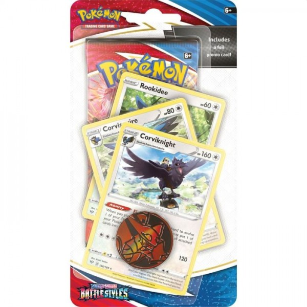 Pokemon Trading Card Game Battle Styles Premium Checklane