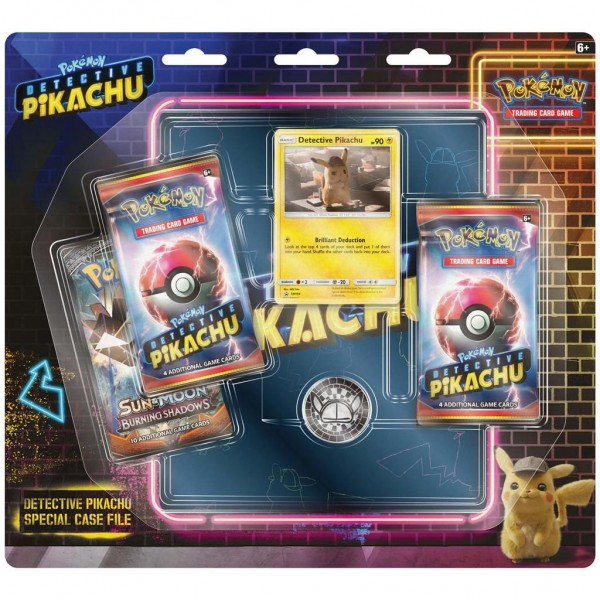 Pokemon TCG Detective Pikachu Special Case File Detective Pikachu + Collector's Map