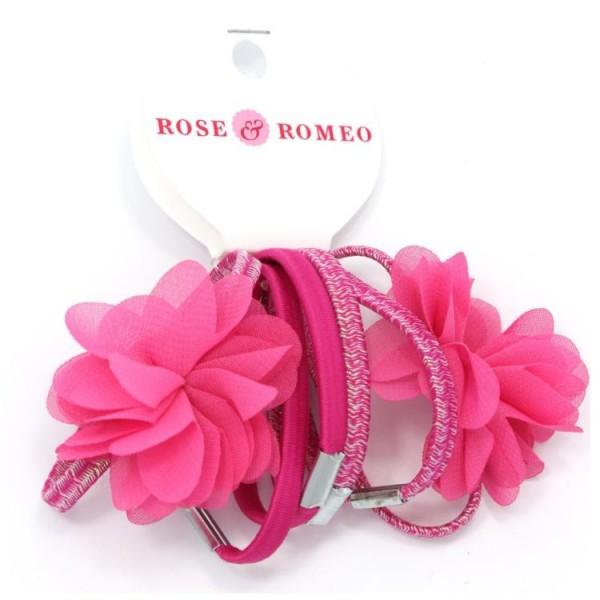112370 Rose & Romeo Haarelastiek
