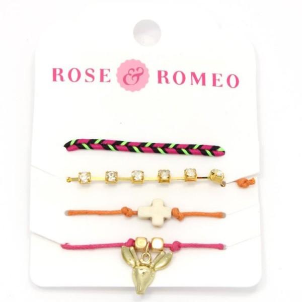 112377 Rose & Romeo Armband