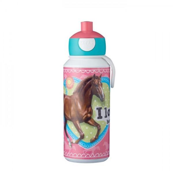 Mepal Drinkfles Pop-Up Mijn Paard 400 mililiter