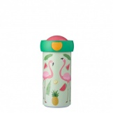 Schoolbeker Tropische Flamingo 300 ml