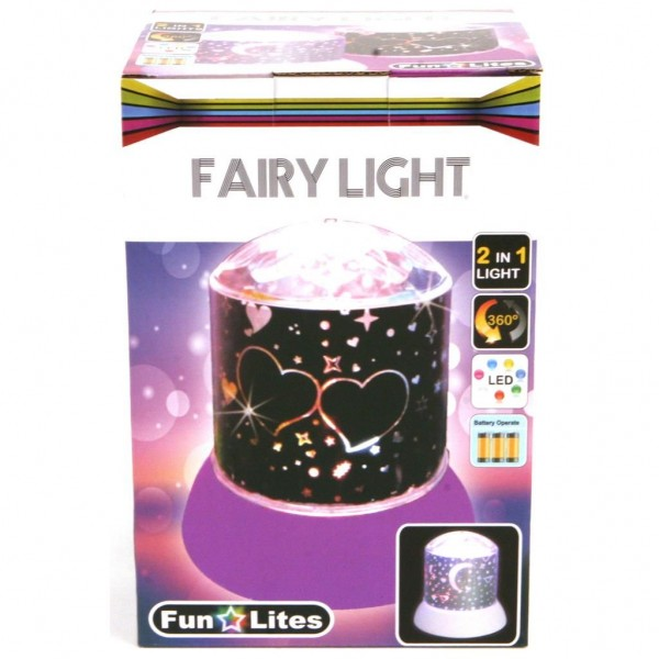 Disco Nachtlamp Galaxy Roze