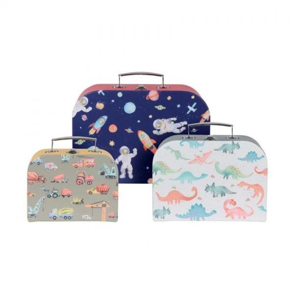 Kofferset van 3