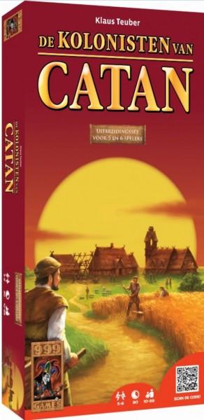 Spel Kolonisten Uitbreidingsset 5-6 Spelers