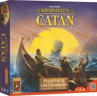 Spel kolonisten van catan piraten & ontdekkers 999-games