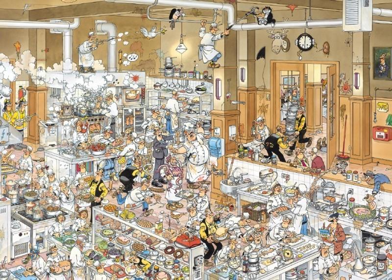 Puzzel Jan van Haasteren - De Keuken (1000)
