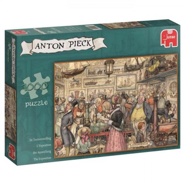 Jumbo Puzzel Anton Pieck De Tentoonstelling (1000)