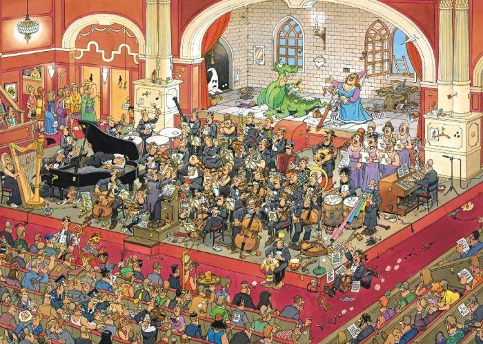 Puzzel Jan van Haasteren The Opera (1000)