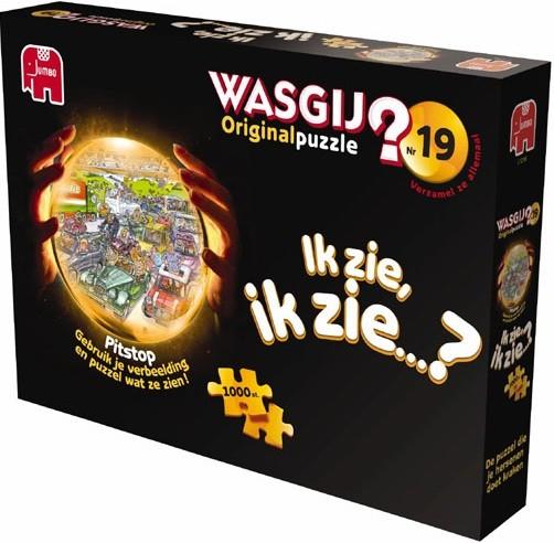 Puzzel Wasgij Original 19 - Pitstop (1000)