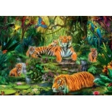 Puzzel Jungle Tijgers (1000)