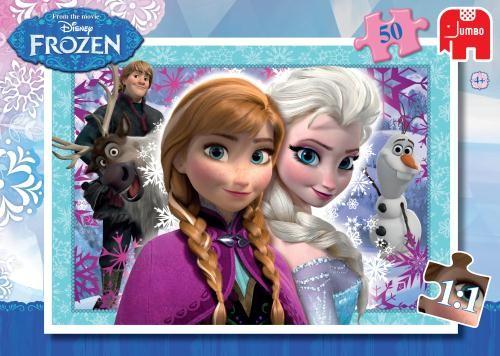 Puzzel 50 stukjes Frozen