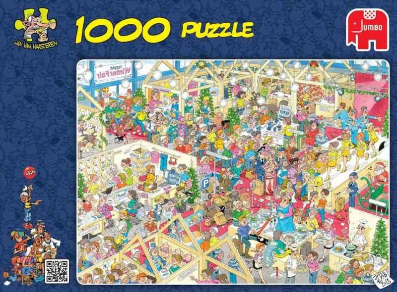 Jumbo puzzel jan van haasteren winterfair 1000