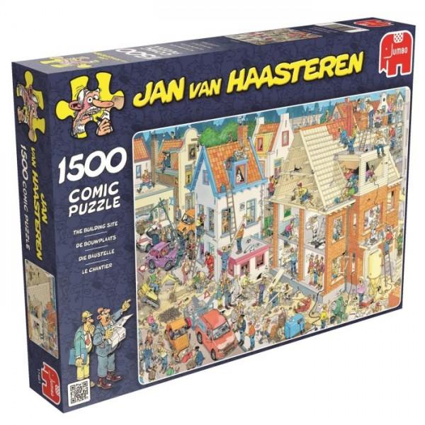 Jumbo puzzel De Bouwplaats 1500 stukjes