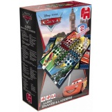 Disney Cars 2in1 - Mens erger je niet/Slangen en Ladders