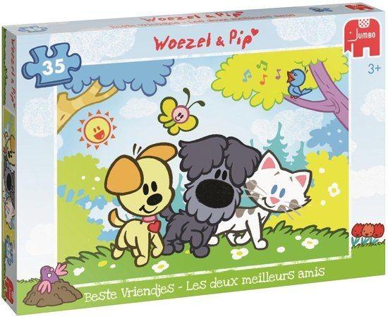 Jumbo Puzzel Woezel & Pip Beste Vriendjes (35)