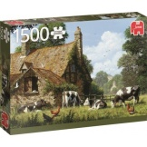 Jumbo puzzel Cows At A Farm (1500)