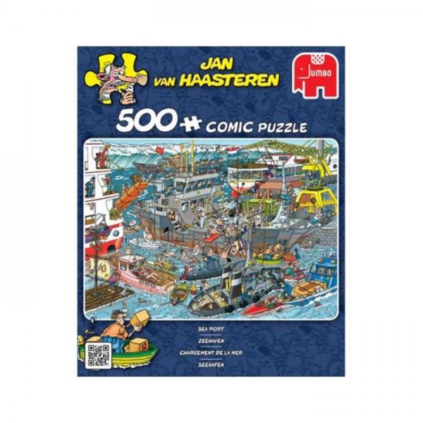Jumbo Puzzel Jan van Haasteren Sea Port (500)