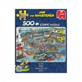 Jumbo Puzzel Jan van Haasteren Sea Port (500)
