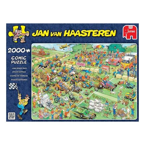 Jumbo puzzel Jan van Haasteren Grasmaaierrace (2000)