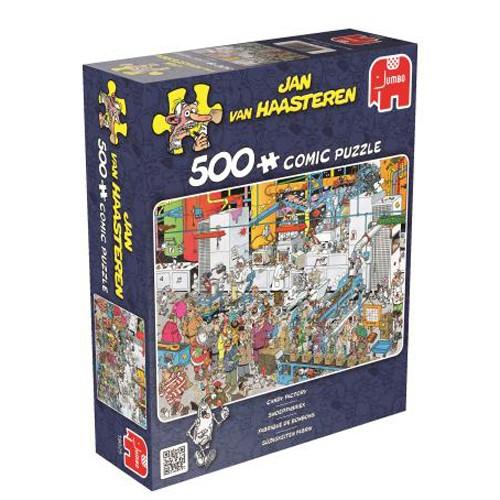 Jumbo puzzel Jan van Haasteren Snoepfabriek (500)